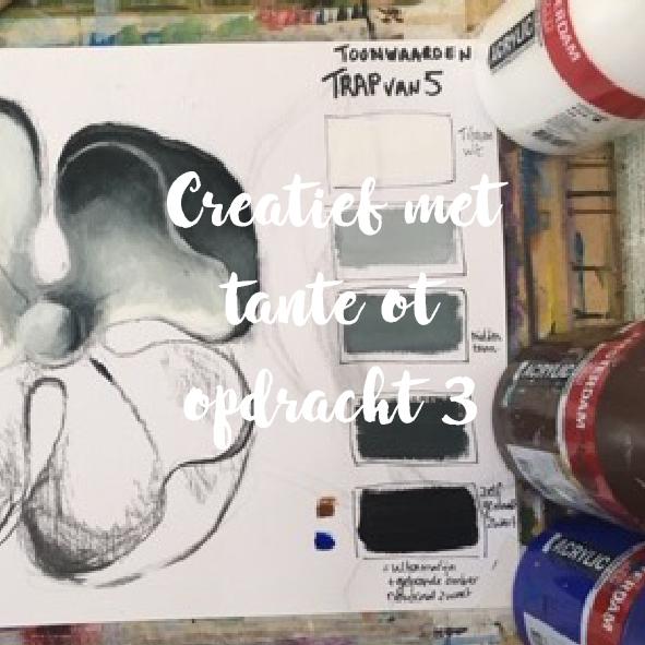 Creatief project 3: Toonwaarden les I
